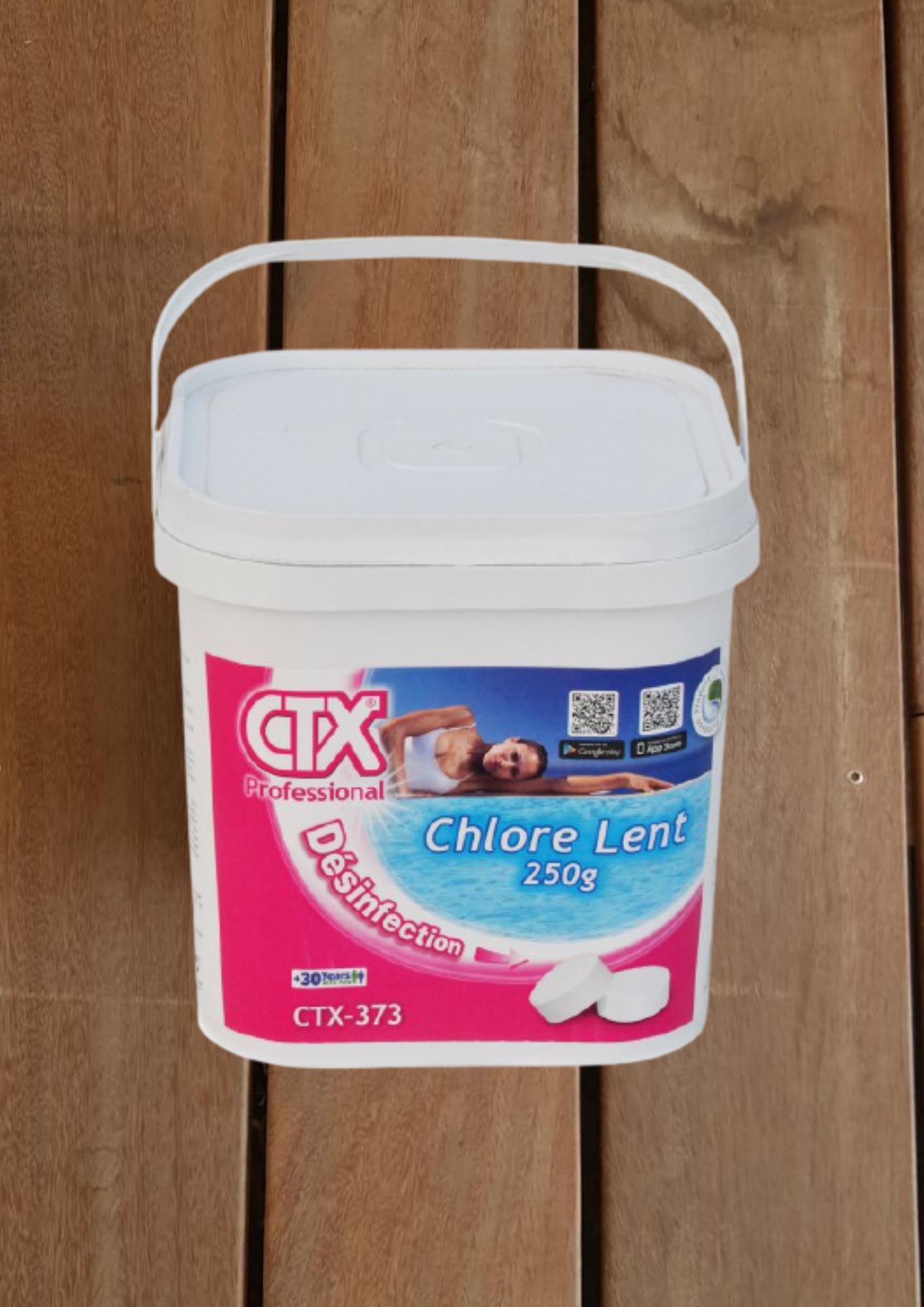 pots de 5kg de chlore à moins 20%